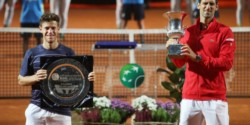 La felicitación del Peque Schwartzman a Djokovic: