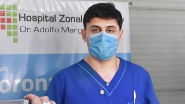 Matías Castiñeira, del Hospital Zonal.