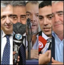 Antonena, J. Touriñan, Grazzini, Jurdana, Giacomone y D. Touriñan.