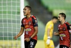 Saúl Guarirapa se convierte en el segundo jugador más joven en la historia del Caracas FC en anotar un gol en Copa Libertadores.