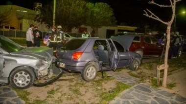 Todo roto. El hecho sucedió en Joseph Jones esquina Leandro Alem, en el barrio Padre Juan Muzio.