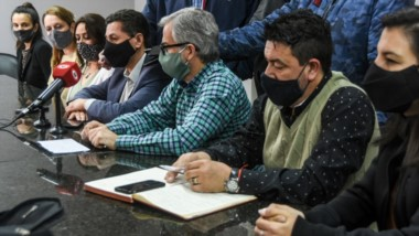 El bloque de concejales por Chubut al Frente salieron a responder a las expresiones de Juan Duarte.