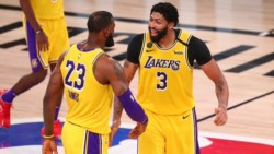 Los Lakers están a un juego de su primera final desde el 2010 (la época de Kobe y Gasol).