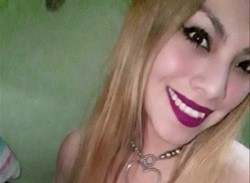 Celeste Burgos, la novia de Ameri.