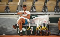 Ya llega Roland Garros y Nadal lo sabe. Arrancará ante el bielorruso Gerasimov.