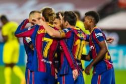 Leo Messi marcó un tanto y
