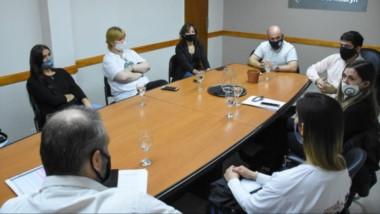 Consejo Consultivo de Cannabis Medicinal, con Gustavo Sastre y madres de la Asociación de Cannabis.