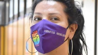 Ojos. Lucía manifestó su satisfacción por la decisión del Concejo Deliberante de incorporar el cupo trans.