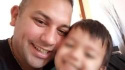 Roldán, padre de un nene de 4 años, fue derivado de urgencia al sanatorio Mater Dei, donde alrededor de las 17:30 falleció.