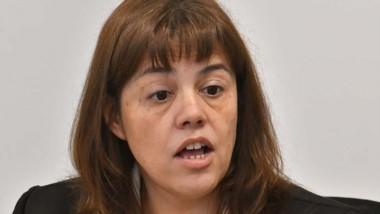 Jueza Mirta Del Valle Moreno.