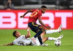 Alemania tenía casi asegurada la victoria por el gol de Timo Werner, pero apareció Gayá sobre el final y lo empató 1-1 para España.