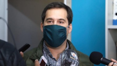 Juan Pablo Luque, intendente de Comodoro Rivadavia.
