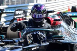 Hamilton logra la pole en Monza con la vuelta más rápida en la historia de la F1.