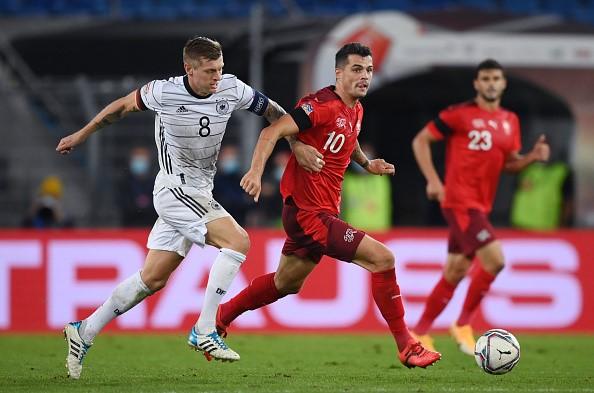 Alemania no pasó del empate con Suiza.