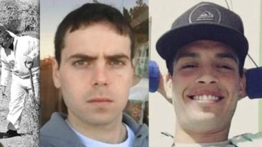 Protagonistas. El fiscal Gélvez (izquierda) pidió elevar a juicio oral el caso de los crímenes de Lomeña y López en Puerto Madryn.