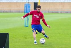 Coutinho se sumó a los entrenamientos de Barcelona.