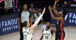 Los Heat de Miami avanzaron a las finales de la Conferencia Este en el quinto partido de la serie al mejor de siete.