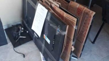 Los elementos secuestrados en Corrientes llegaron a la Fiscalía.