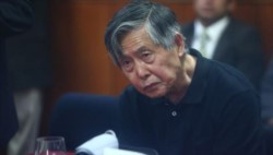 De presidente a presidiario. El ingeniero sigue siendo juzgado por los varios crímenes de su gestión.