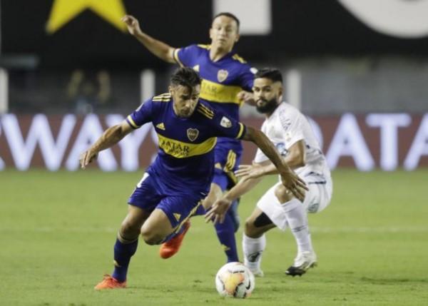 El club brasileño pegó primero y por ahora le gana 1-0 a Boca Juniors en Brasil.