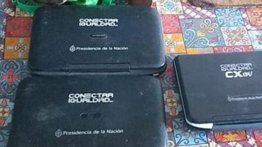 Las cuatro netbook fueron halladas en un allanamiento domiciliario