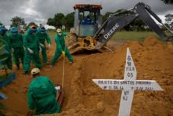 Manaos padece un nuevo colapso hospitalario por la pandemia luego de que se acabaran los tubos de oxígeno, lo cual obligó a derivar a más de 750 pacientes de Covid-19 hacia otros estados