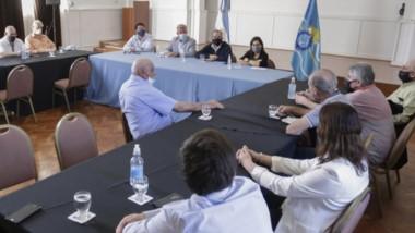 De la reunión participaron empresas de la Cordillera, Comodoro, y del Valle Inferior del Río Chubut.