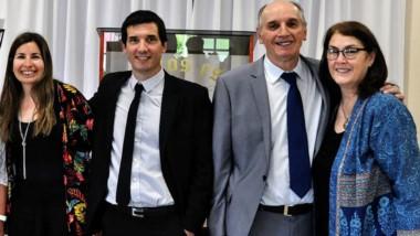 Rodrigo Busconi y su esposa son los nuevos pastores de la iglesia El Faro.