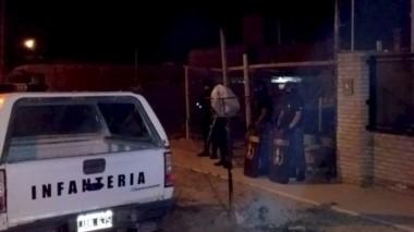Efectivos policiales realizaron cuatro allanamientos en el barrio Presidente Perón de Puerto Madryn