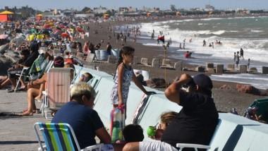 La costa de Playa Unión está dividida en 34 sectores.