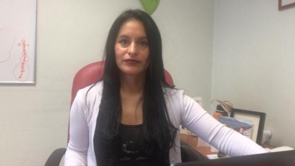 Gladys Olavarría, abogada de la familia de la víctima.