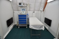 PAE, además, realizó un aporte de quipos a diferentes hospitales de la provincia.