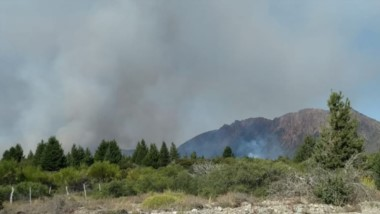 Zona donde se concentró la actividad más crítica. Allí  llegó Jornada para observar la lucha de bomberos.