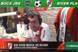 Atilio Costa Febre se disculpó por sus dichos sobre un jugador de Boca.