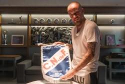 Con un lindo video, Nacional le dio la bienvenida a su nuevo refuerzo: Andrés D'Alessandro .
