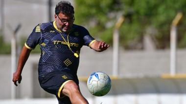 Pancaldo fue presentado por el presidente del club, Gustavo Sastre, con la mira puesta en la próxima fase de la competencia.