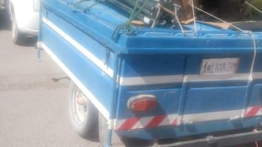 El trailer sustraido se encontraba estacionado en la calle Brasil