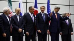 El histórico acuerdo alcanzado en tiempo de Barack Obama, con John Kerry (abriendo los brazos en la imagen) como secretario de Estado norteamericano. Luego llegó Trump, pateó el tablero y ahora...