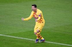 Leyenda: Messi lleva 17 años haciendo goles con el Barcelona.