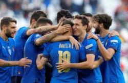 Los de Mancini se recuperaron de la caída contra España y le ganaron 2-1 a Bélgica.