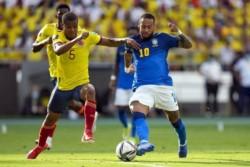 Brasil llegó a Colombia y hubo furor por Neymar: