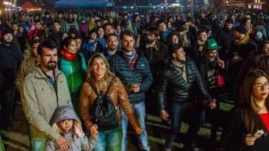 Multitud. La gente hizo mover un festejo que se repetirá cada octubre tras el éxito de su primer evento.