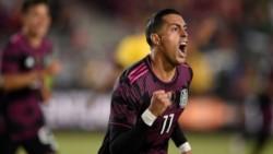 Rogelio Funes Mori registra 5 goles en 11 partidos disputados con la Selección absoluta de México.