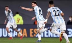 Messi se transformó en el máximo goleador de la Selección Argentina jugando en el Monumental. Iguala a Crespo con 12 gritos
