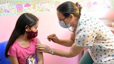 Para los más jóvenes. Ya comenzó la última etapa de vacunación, para los grupos que van de 3 a 11 años.