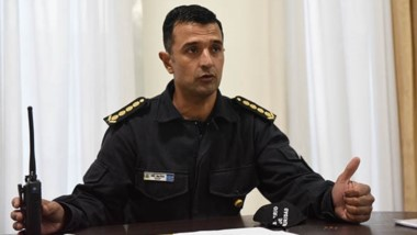 Miguel Gómez. Jefe de la Policía.