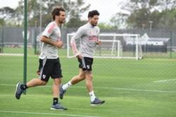 River no descansó y tras la victoria ante San Lorenzo, hoy volvió a los entrenamientos.