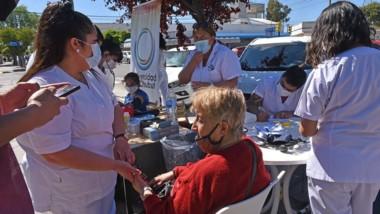 Los controles de salud por parte de los alumnos fueron gratis.