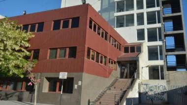 Lugar de trabajo. En la planta baja de la sede de Fiscalía de Trelew trabajaba el forense investigado por un delito de gravedad extrema.
