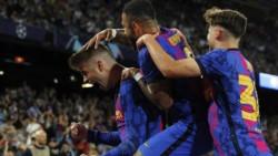 Gerard Pique convirtió el gol de la victoria de Barcelona.